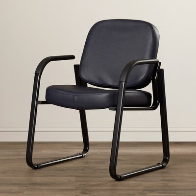 Galloway Guest Chair Color: Black