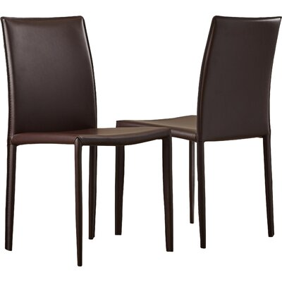 Lacey Side Chair Finish: Black