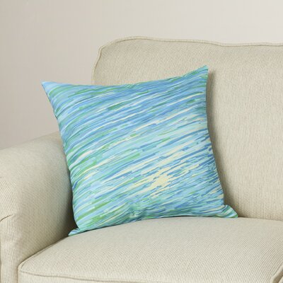 Carovilli Throw Pillow Size: 18 H x 18 W, Color: Cool