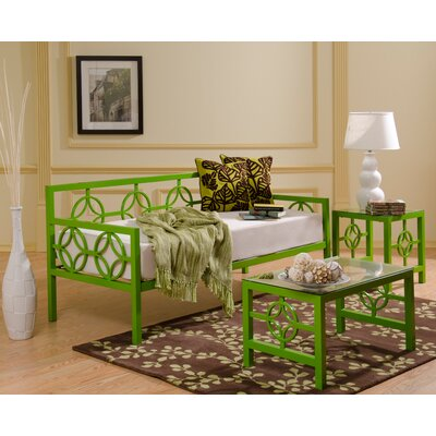 Tyra Coffee Table Finish: Green