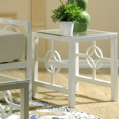 Millerton End Table Color: Marshmallow White
