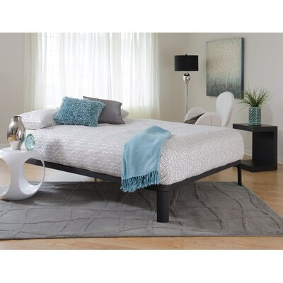Evangeline Platform Bed Size: Queen, Color: Matte Black