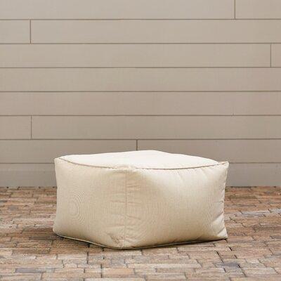 Paula Pouf Ottoman Upholstery: Ivory