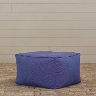 Paula Pouf Ottoman Upholstery: Cobalt