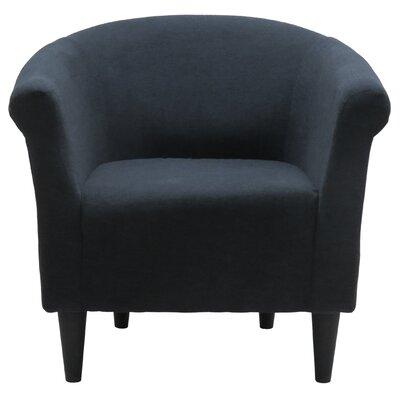 Liam Barrel Chair Upholstery: Blackboard