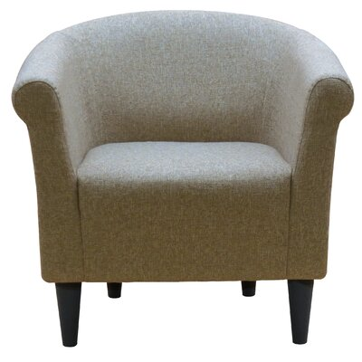 Liam Barrel Chair Upholstery: Notion Light Brown/Beige