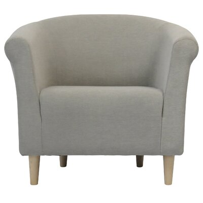Liam Barrel Chair Upholstery: Taupe