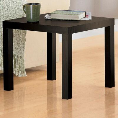 Carissa End Table Color: Espresso