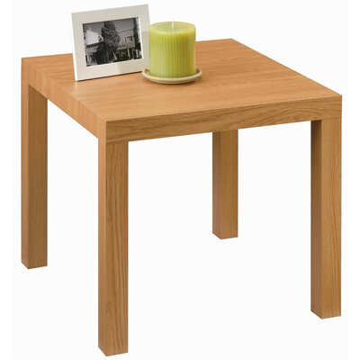 Carissa End Table Color: Natural