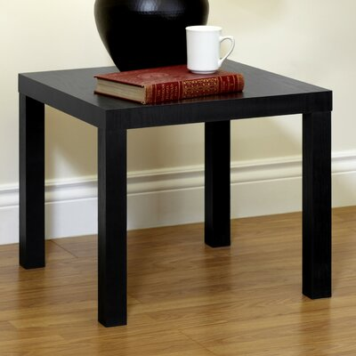 Carissa End Table Finish: Black