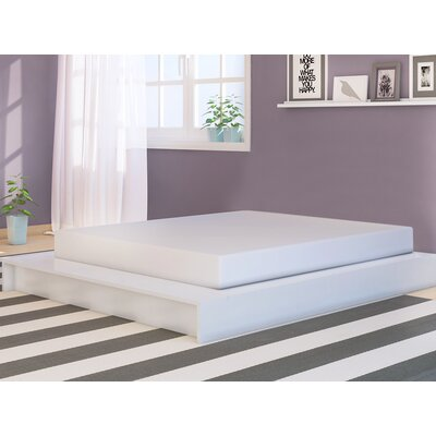 Lorraine Platform Bed Size: Full, Finish: White-Wash Wood Grain