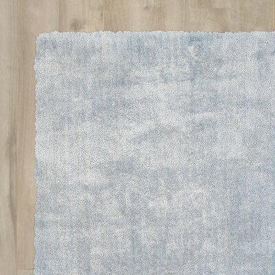 Carter Sky Blue Area Rug Rug Size: Runner 26 x 8