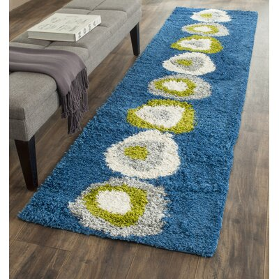 Homedics Blue Area Rug