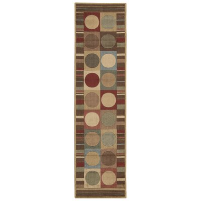 Patrica Area Rug Rug Size: Runner 111 x 76