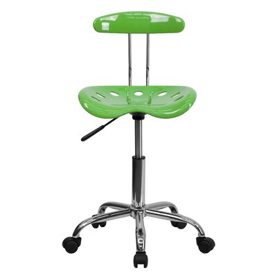 Ivan Mid-Back Task Chair with Tractor Seat Upholstery: Spicy Lime ZIPC2970 28381741