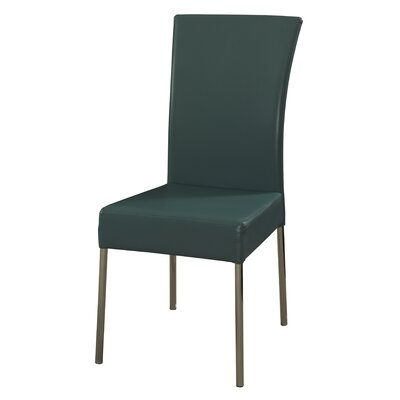 Side Chair Upholstery: Teal