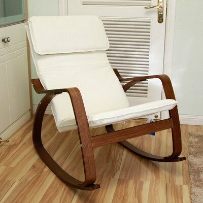 Rocking Chair Upholstery: Ivory
