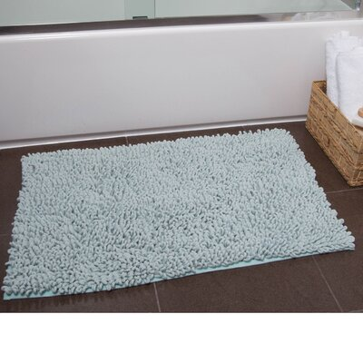 Brittany Bath Rug Color: Mint, Size: 21 x 34