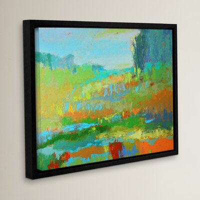 'Southern View II' Framed Painting Print Size: 14