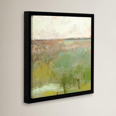'Landscape II' Framed Painting Print Size: 10