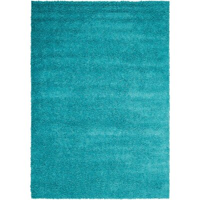 Alexis Turquoise Area Rug Rug Size: Rectangle 5 x 7