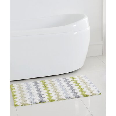 Francine Bath Mat Color: Green, Size: 32 H x 20 W