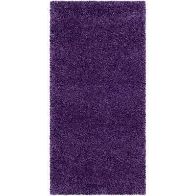 Caryn Purple Area Rug Rug Size: Rectangle 2 x 4