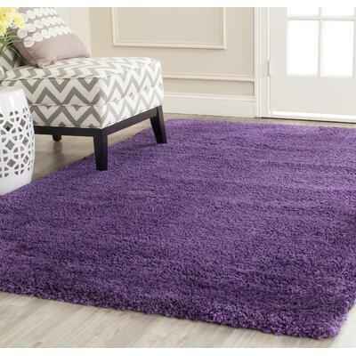 Caryn Purple Area Rug Rug Size: Rectangle 51 x 8
