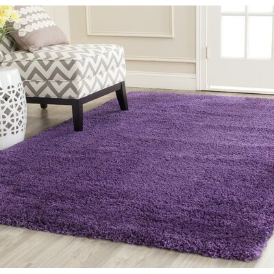 Caryn Purple Area Rug Rug Size: 10 X 14