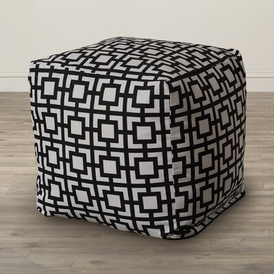 Gigi Bean Bag Chair Upholstery: Black