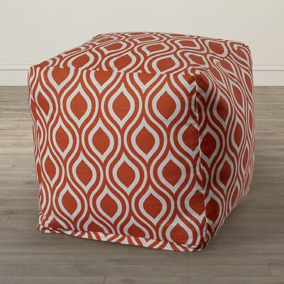 Nicole Bean Bag Chair Upholstery: Orange