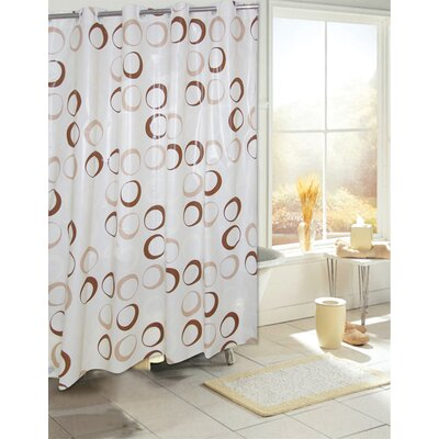 Angie Circles EVA Shower Curtain