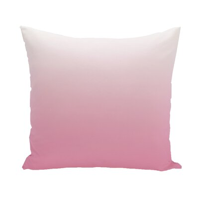 Bonnie Throw Pillow Color: Fushia, Size: 26 H x 26 W