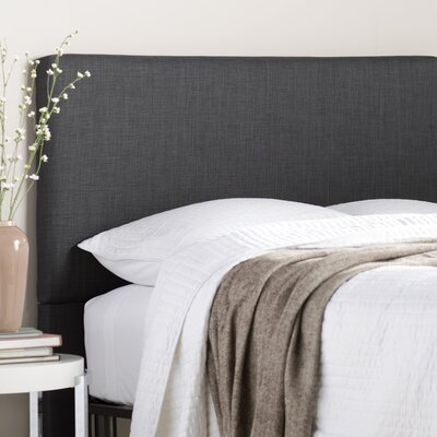 Carter Upholstered Panel Headboard Size: Twin, Upholstery: Carbon