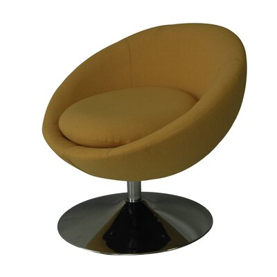 Annabelle Papasan Chair Upholstery: Golden