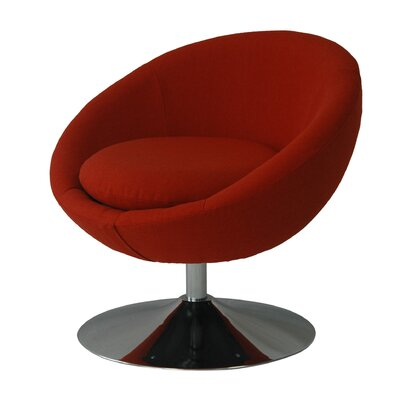 Annabelle Papasan Chair Upholstery: Rouge