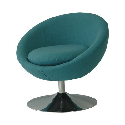 Annabelle Swivel Papasan Chair Upholstery: Tonic