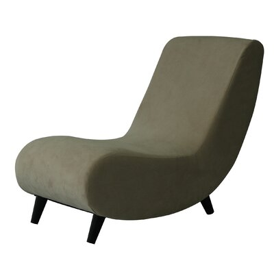 Annemarie Slipper Chair Upholstery: Buckwheat Beige