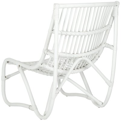 Aurora Side Chair Frame Finish: White