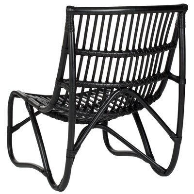 Aurora Side Chair Frame Finish: Black