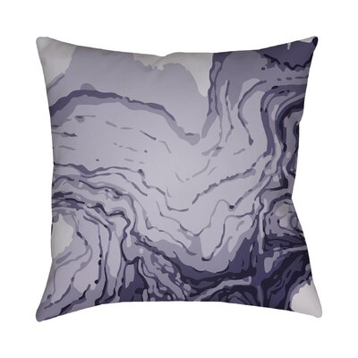 Bernadine Throw Pillow Size: 22 H x 22 W x 4 D, Color: Purple