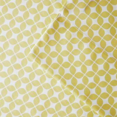 Young Sheet Set Size: Twin, Color: Yellow
