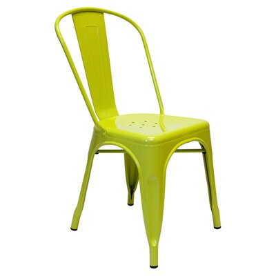 Louisa Dining Chair Color: Lime