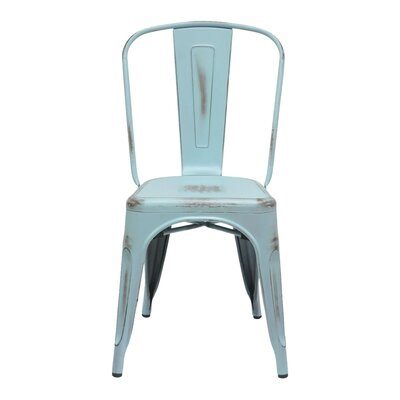 Louisa Dining Chair Color: Antique Blue