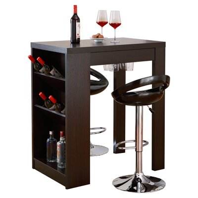 Eliza Bar with Wine Storage
