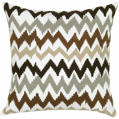 Lucinda Charla Cotton Pillow Cover Color: Ivory/Pink