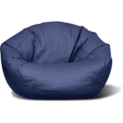 Riley Bean Bag Chair Upholstery: Navy