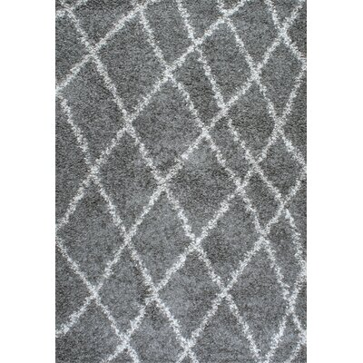 Alexa Gray Area Rug Rug Size: Rectangle 4 x 6