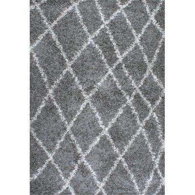 Alexa Gray Area Rug Rug Size: 92 x 12