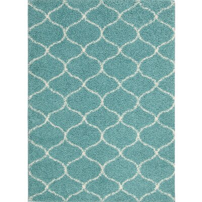 Addison Teal Area Rug Rug Size: Rectangle 32 x 46